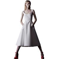 High-end Sexy White Princess Temperament Elegant Long Ballet Vest Dress Free Shipping 2014 Summer New 7611