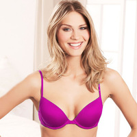 Smooth Light Padding Underwire Everyday Basic T-Shirt Bra 6 Colors 32 34 36 38 A B C D