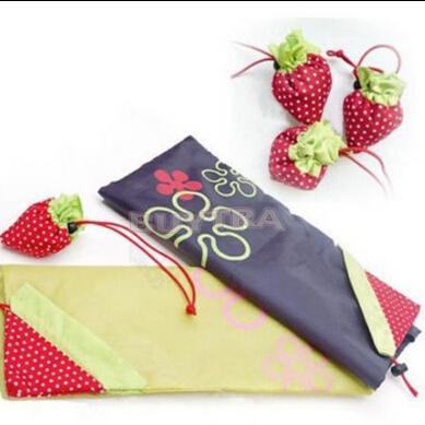 2014 New Fashion 38*34cm Cute Shopping Bags/Brand Cartoon Strawberry Shaped Shopping Bags Women/Cheap Special Purpose Bags(China (Mainland))
