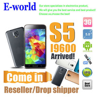 1:1 S5 (without logo) smartphone,MTK6572 Dual Core single sim card Android 4.3 OS 512MB+4G 5.0inch Air Gesture,Free shipping
