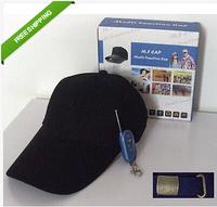 Free Shipping Hat/Cap DVR HIDDEN CAP HAT CAMERA VIDEO RECORDER Baseball Cap 480P