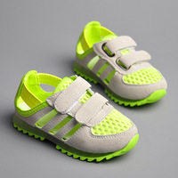 2014 spring and summer kids sneaker sports small cutout sandals baby shoes breathable cool children sports sandals