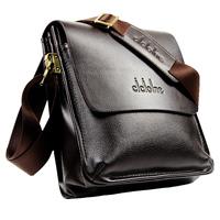 Promotion New 2014 High Quality Fashion Men Messenger Bags Genuine leather Man Brand business bag Shoulder Bag Sale