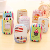 10pcs/lot metal storage tin box wedding candy jewelry gift box 1.6 55