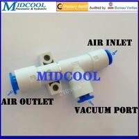 Port 6mm 13.5L/min pneumatic vacuum pump ZH05DL-06-06-06 basic -48kPa Nozzle diameter 0.5mm one touch tubular type