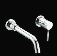 e-pak Single Handle 2Pcs Bathroom Basin Kitchen Sink Mixer Tap Faucet AD-1240