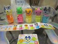 Baidai Tamagot chi Candy Dispenser Set of 5 JP
