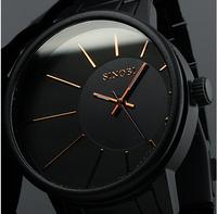 2014 New Fashion Men Full Steel Watch Wristwatches Watches Men Luxury Brand Clock Male Quartz Watch Men's Watches Relogio B035