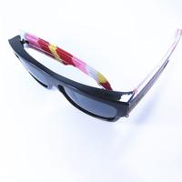 New 2014 Euro-American Men Women's Summer Outdoor Bicycle Sunglasses UV400  Polarized Gray Lens Running  EyeWears New HOT!