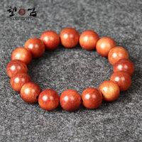 brand new 2014 Top Blood Dragon Wood 12mm Women bracelet bangles men women wooden beads  bracelets Be wholly transparent