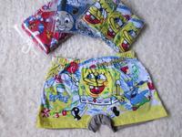Free Sale Character Cotton Shipping 2014 New 100%cotton Underwears Cartoon Briefs Children Kids Cute Panties 3pcs /lot