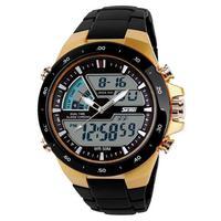 2014 Brand Men Watches 50m Waterproof Men Watch Analog Digital Dual Time Sports Watches Calendar