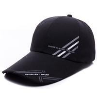 free shipping men hats male caps Lengthen hat brim baseball cap male cap fishing sun-shading hat summer sun hat anti-uv