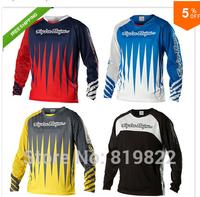 2014 Troy Lee Designs Downhill MTB XC LS Mens Sprint MTB Bike Cycling Jersey Racing Motorcycle Motocress Jersey Long T Shirts