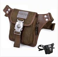 HengLi canvas hunting travel sport pocket waist bag fanny pack Brand designer small shoulder messenger bag for men Free shipping