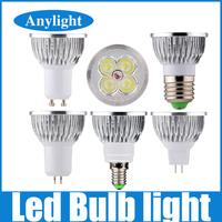 2pcs Dimmable 12W E27/E14/Gu5.3/Gu10/Mr16 DC12V 110V 220V 230V CE Warm/Pure/Cold/White High Power Led Lamp/Spot lighting WSP11