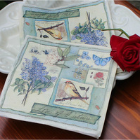 Bird And Flower Napkins (Tissue) 20 Sheets For Wedding Decoration Party Gifts Stuff Supplies Free Shipping