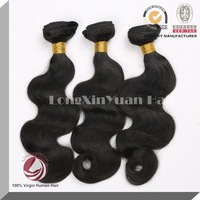 Free Shipping LXY Hair 100% Human Hair Unprocessed Brazilian Virgin Hair Body Wave 3pcs/lot  6inch to 32inch available