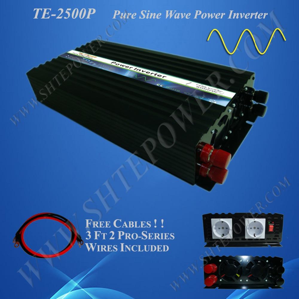 1PC High quality Off Grid Micro Solar Wind Hybrid Inverters, DC to AC Converter 24V 120V 2500W(China (Mainland))