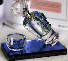 HOT SALE New advanced crystal car perfume vase & car perfume seat place adorn article air freshener(China (Mainland))
