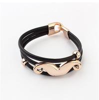 YXSP4598      2014 new fashion  Hot fashion big mustache    Bracelets for women