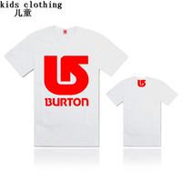 1pcs New 2014 boys t shirt girls hip hop Burton Muscle  t-shirts kids baby children t shirts  clothing