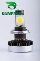 2014 Newest High Quality  Vehicle Headlight 2pcs/set H4-3200LM (High/Low Bean)LED HID Bixenon Bulb  6000K 42W 12V-24V  KF-3104