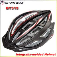 New 2014 SPORTWOLF BT315 EPS Mountain Bike Helmet Integrally-molded Men's Road Cycling Helmet L 58-62CM Ultralight 220G