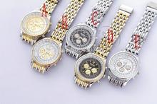 2014 new watch Wholesale 18k gold plated quartz wrist watch men luxury brand Rosra jewelry high