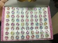 Supper Cheap Price Hello Kitty Children Rings Fashion Rings 5box /lot (1 box has 72pcs) Free Shipping