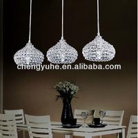 Free Shipping Modern Dinner Room Crystal Pendant Lamp 110-240V Voltage