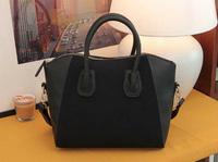 fashion  patchwork nubuck tote bag brand handbag designer handbag women handbag smiley shoulder bag women messenger bags HX136