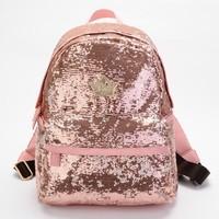 celebrity fashion jelly candy color embroidered paillette bling teenage girls school backpack desigual bag shoulder bag mochila