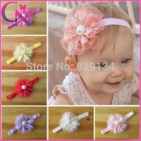 Baby Girls Infant Toddler Flower Lace Headband Hairband Headwear ,Hair Accessories Elastic Headband 36 pieces/lot CNHBD-14062017