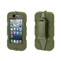 Free shipping Durable Shockproof waterproof Military Heavy Duty With Belt Clip Case cover For iphone 5G 5S