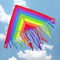 Colorful Kite Kite Flying outdoor fun & sports kite  incloud kite line free shipping