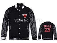 Free drop shipping New Men's women's fashion Leather No 23 Varsity jackets baseball coat lovers cardigan Sweatshirts hooded