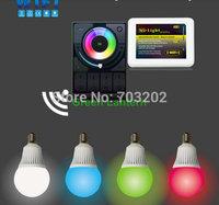 E14  WIFI LED bulb e14 base rgb+white 5W with 2.4G RF Wireless Remote Control