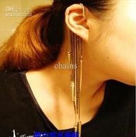 Punk Stud Fashion Retro Ear Cuff Stud Long Rivet Ear Rings High Quality