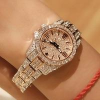 New 2014 Fashion Brand Austrian Crystal Luxury Woman Rhinestone Watches Women Dress Watches Female Quartz Watches Hot Sale