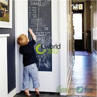 45x200cm Child Kid Vinyl Toy Chalkboard Sticker Decal Gift Home Office Classroom Blackboard Wall Sheet with 5 Free Chalks