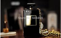 Luxury Brand Logo Perfume Bottle HandBag Case For iPhone 4 4S 5 5S ,Free Shipping