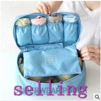 Multifunctional travel underwear bra panties ties socks storage bag finishing bag portable wash bag cosmetic sock package