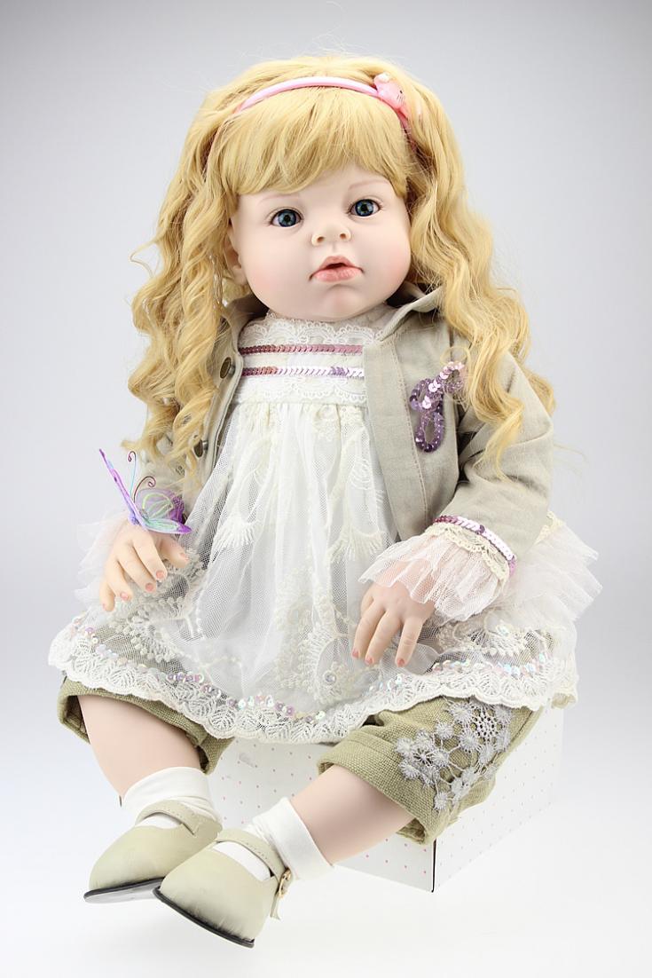"CUSTOM Reborn Baby Toddler Girl ""ARIANNA"" R.Schick Doll Memory Dolls vinyl doll(China (Mainland))"