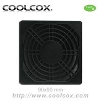CoolCox 90mm fan filter,exhaust fan filter,dust filter for 9cm fan,5pcs/lot