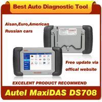 Original Autel MaxiDAS DS708 Automotive Diagnostic System Free Update Online and Multi-Language DHL Fast Shipping