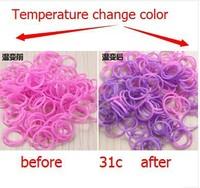 10KG loom color rubber band , temperature temperature control rubber loom weaving rubber band bracelets