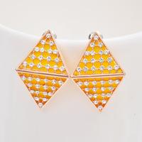 earrings High-grade  jewelry wholesale Czech woman stud vintage earrings