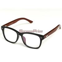 Retro Trendy Men Women Unisex Wooden Glasses Frame For Myopia