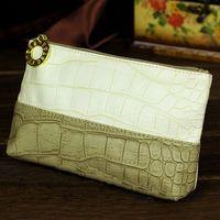 New Fashion women's Brand Cosmetic Bag CROCO Cosmetic Sorting Bag Makeup Cases Wash Bag Travel Storage Cosmetic Clutch Handbag